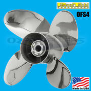 15 1/4 X 19 Johnson Evinrude 90-300hp Power Tech Stainless Propeller Ofs4 Blade