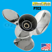 14 1/4 X 17 Honda 115-225hp Power Tech Stainless Propeller 3 Blade Prop