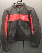 Leather Jacket Ducati Company By Rev'it 981019204 Size Xl In Offer Red