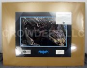 Dc Direct Batman War On Crime Signature Print Alex Ross 16x20 Signed And Numbered