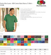 Fruit Of The Loom 3930r Blank T-shirts 50 Shirts - Choice Of Black Or White