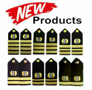 New Us Navy Authentic Judge Advocate Shoulder Boards Ranks Hi Quality Cp Made