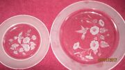 83 Piece Avon Etched Full Lead Crystal Humming Bird Dishware
