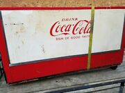 1960and039s Coca Cola Cooler