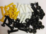 30 Pack Mixed Licence Plates Plastic Screws