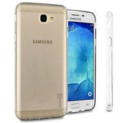 Flexible Rubber Tpu Cover For Samsung Galaxy On7 2016 / Galaxy Nxt Case Clear