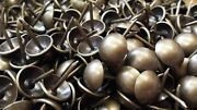 Uffy- French Natural Antique Brass Decorative Upholstery Tack Nail 7/16 X 1/2