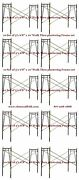 10 Set Of 3and039 X 6and0398 X 10and039 Plastering Masonry Scaffold Frame Set Cbmscaffoldcom