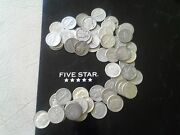 90 Us Minted Silver Coin 1 Pound Lb 16 Oz .pre 1965 All Dimes Barter One