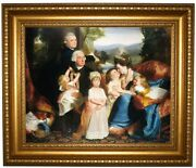Copley The Copley Family 1776 Framed Canvas Print Repro 16x20