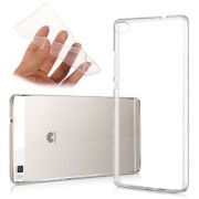 For Huawei P8lite Ale-l21 Silicon Case Ultra Thin Clear Tpu Soft Back Cover