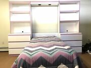 Bedroom Furniture Beds Set Kids Adults Or Teenagers Dorm Room Full Drawer Shelf