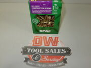Spax Screws Made In Usa 1 1/4 X 8, Washer Head, 5lbs Interior, Cabinet