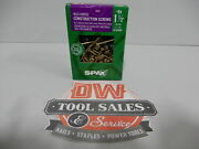 Spax Screws Made In Usa 1 1/2 X 8, Washer Head, 5lbs Interior, Cabinet