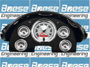 1956 Ford Fairlane Gauge Adapter Rings W/ Auto Meter American Muscle Instrument