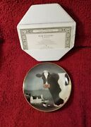 Franklin Mint By Lowell Herrero Cow Country