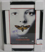 Jodie Foster Framed And Hand Signed 11x14 Photo + Psa Dna Buy Genuine