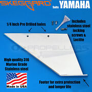 Yamaha 115-130-140hp 4 Strokes2000 And Newer Skeg Guard Skeg Protector