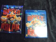 Used Dvd Blu-ray Disney's Collectors Edition Wreck-it Ralph  202