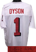 Kevin Dyson Signed Custom Stitched Shadow Football Jersey 1 Go Utes Xl- Jsa