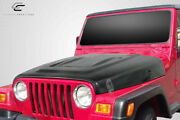 Carbon Creations Heat Reduction Hood Fits All Models Without Highline Fend