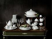 Richard Ginori -old Ginori - Dishes 39 Pieces For 12 Persons - Dealer