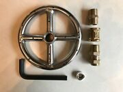 6 Stainless Steel Fire Pit Ring Burner W/ Lp Propane Air Mixer