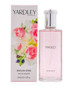 English Rose By Yardley Edt 4.2 Oz Edt Perfume For Women New In Box