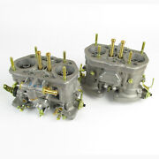 Genuine Weber 40idf Carbs. X2 Jetted For 1600-1900cc Vw Air Cooled Beetle Camper