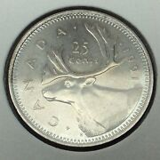 1991 Canada 25 Cents Quarter Uncirculated Canadian Coin B969