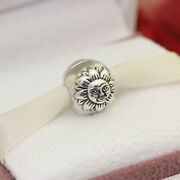 Authentic Pandora Sterling Silver Night And Day Clip 791208cz Sun Moon