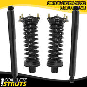 2002-2012 Jeep Liberty Front Quick Complete Strut And Rear Shock Absorber Bundle