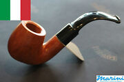 Pipes Pipe Savinelli 614 Curve Briar Natural Waxed Wood Made In Italy