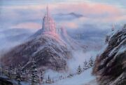 Mystical Kingdom Of The Beast By Peter Ellenshaw Inspired By Beauty And The Be