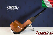 Pipes Pipe Savinelli 510 Ks Briar Natural Waxed Wood Made In Italy