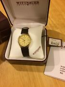 Vintage Wittnauer Menand039s Wrist Watch With Original Box And Papers Discontinued.