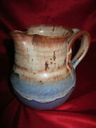 Thomas Reece Modern Art Stoneware Studio Handcrafted Creamer Pitcher Pottery