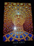 Visions By Alex Grey 2003, In Wooden Box, Signed Book With 5 Paintings