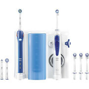 Oral-b Oxyjet Cleaning With Oral Irrigator + Oral-b Pro2000 Electric Toothbrush
