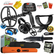 Garrett At Max Underwater Detector W/ Ms-3 Pro-pointer At Divers Headset More