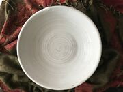 Peter's Pottery White Bowl Handmade Second (see pictures)
