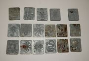 Lot Of 17 Creepy Crawlers Bugs Thing Makers R16658