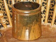 TEXAS POTTERY JUG CROCK STONEWARE FROM ESTATE COLLECTION NO CHIPS NO CRACKS NICE
