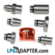 Autogas Pol Lpg Propane Bottle Cylinder Refill Adapter Kit With Safety Valve