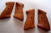 Ready To Finish Africa Rosewood Target Grips Right Hand - Crosman 1322 2240 Etc
