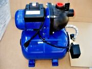 Foster 3/4hp Shallow Well Water Pressure Pump With Tank Cottage Cabin And Farm