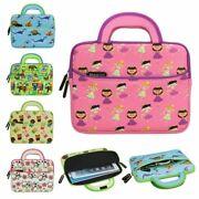 8.9 10.1 Tablet Neoprene Cute Kids Sleeve Carrying Case W/ Handle And Pocket