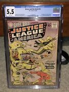 Brave And The Bold 29 Cgc 5.5 Dc 1960 2nd Justice League Wp G11 123 1 28 Cm