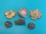 Cub Scout And Boy Scout Pin Lot Arrow Of Light, Den Mother, And Insignias