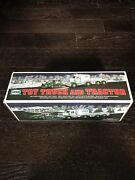 2013 Hess Toy Truck And Tractor Flashing Lights And Exciting Sounds Great Condition